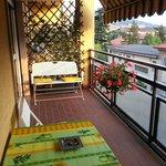 Balkon im Wohnbereich