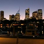 The view of the Sydney skyline