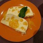 terrine fromage blanc et mangue