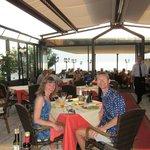 La cena sul Lago di Garda