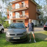 In front of Casa Rabagno