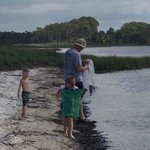 fishing with daddy at port st joe