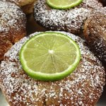 coconut and lime muffins