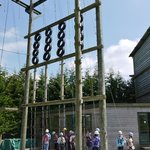 High wire frame