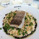 cod with orzo risotto