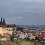 view from Strahov monastery