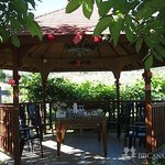 Countryside B&B Gazebo use for relaxation or even entertainment