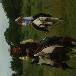 Ride a horse!