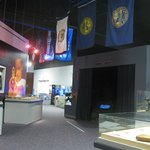 Part of the large display area
