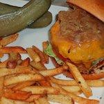 Wagyu Beef Cheese burger