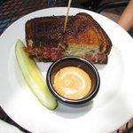 Reuben Sandwich, half