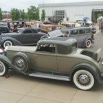 Packard Coupe at the May St Louis Classic Car Show
