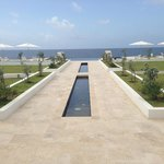 Leading to the Infinity Pool