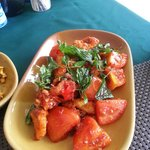 Shambala Special Chicken Curry with Tomatoes and Herbs