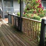 Nice back deck