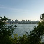 View of Old Montreal from Jean Drapeau park