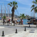 Bodrum harbour - outlook from Restaurant
