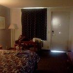 Standard motel room.....