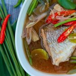 Clear Mullet Fish Soup at Baba Sould Food Top Restaurants in Phuket