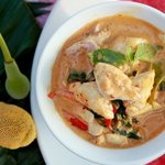 Andaman Crab-meat-in-Yellowcurry at Baba Sould Food Top Restaurants in Phuket