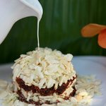 Crispy Khao Mao Caramel Coconut warm at Baba Sould Food Top Thai Restaurants in Phuket Thailand