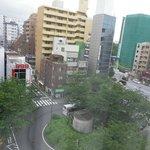 駒込駅南口広場附近です