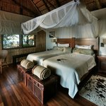 Xugana Island Lodge bedroom