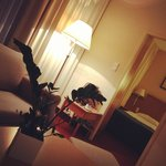 Suite at the Scandic in Gdansk, Poland