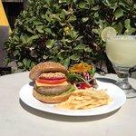 Burger and Margarita