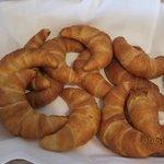large croissants.
