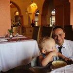 Наш официант Мохаммед