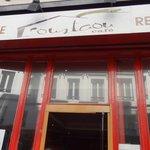 Вход в кафе rue de Richelieu