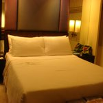 Very inviting and comfortable room & bed