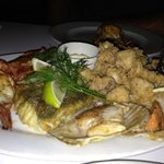 Delicious seafood platter
