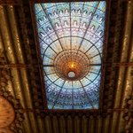 Palau de la Musica ceiling