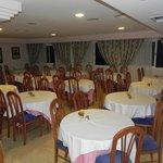 Sala per la ristorazione