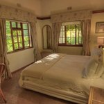 Stunning bedrooms with views onto the gorgeous garden. It doesn't even feel like you are in Jobu