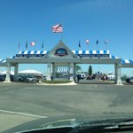 Shepler's entrance in Mackinaw City.