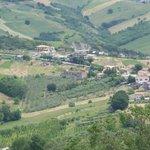 Vista de San Bartolomeo desde Guardiagrele