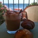 colazione in terrazza da paura!!