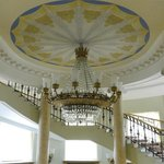 Grand Staircase and Chandelier