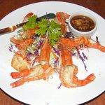 Yummy prawns with tamarind sauce