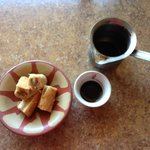 Baklava and Turkish coffee