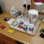 Tea and Coffee tray - Tissues even!