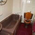 ROOM 5 - Bathroom (compl.toiletries.clean.carpet floor)