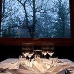 ristorante Gli Scoiattoli Bivigliano Firenze vista panoramica dal tavolo