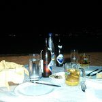 Midnight Meal on the beach