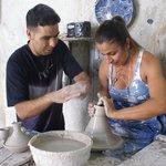 Cooperativa de cerámica en Fes.