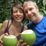 Our coconut water!
