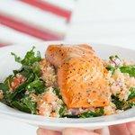 Kale, Qunioa  & Seasonal Fish Salad